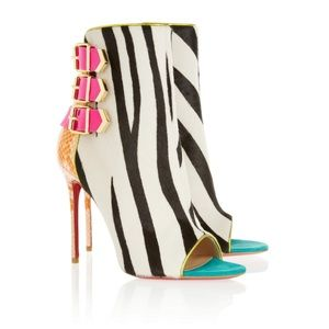 Christian Louboutin Triboclou Ankle Boots